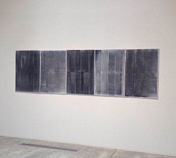 Untitled,  5 Gray paintings